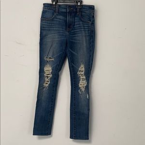 J brand skinny dark wash skinny jeans size 25